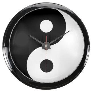 Símbolo de Yin/de Yang Relojes Aquavista