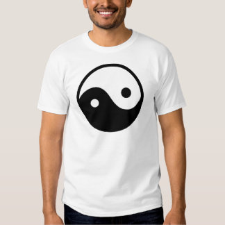 Símbolo de Yin Yang Camisas