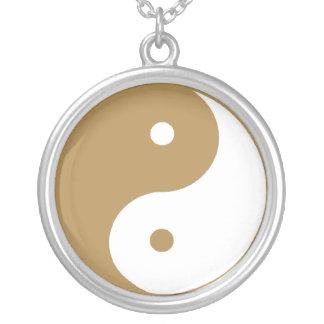 Símbolo de Yin Yang Colgante