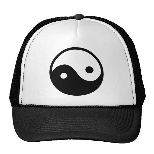 Símbolo de Yin Yang Gorro