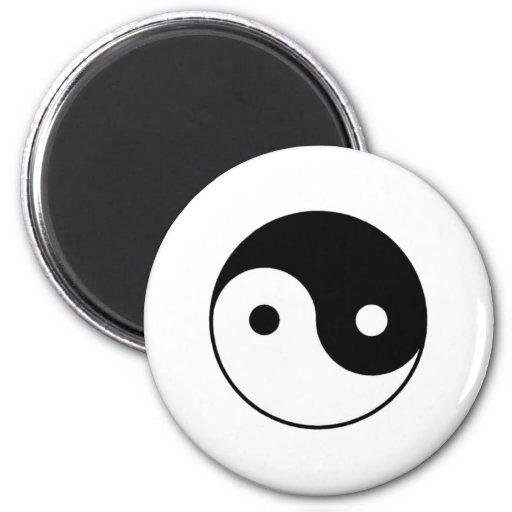 Símbolo de Yin-Yang Imanes Para Frigoríficos
