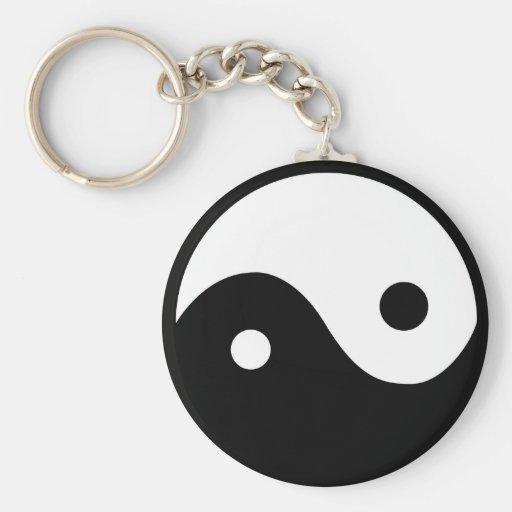 Símbolo de Yin Yang Llavero