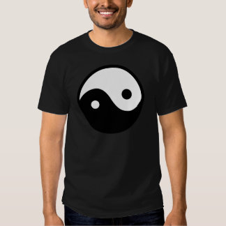 Símbolo de Yin Yang Playeras