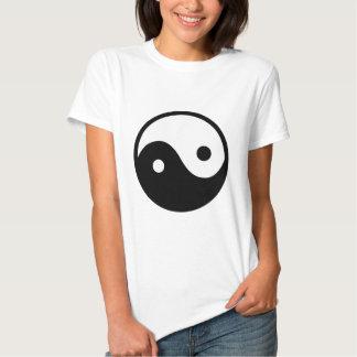 Símbolo de Yin Yang Poleras
