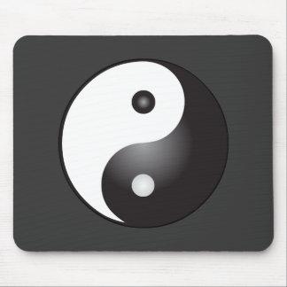 Símbolo de Yin Yang: Tapete De Ratón