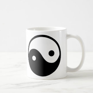 Símbolo de Yin Yang Taza Clásica