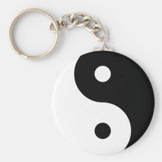 Símbolo de Ying Yang Llaveros Personalizados
