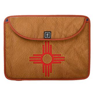 Símbolo de Zia Sun Funda Macbook Pro