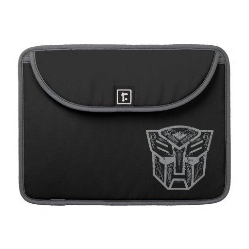 Símbolo decorativo de Autobot Fundas Para Macbooks