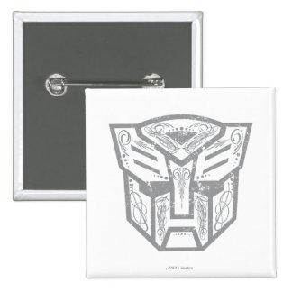 Símbolo decorativo de Autobot Pins