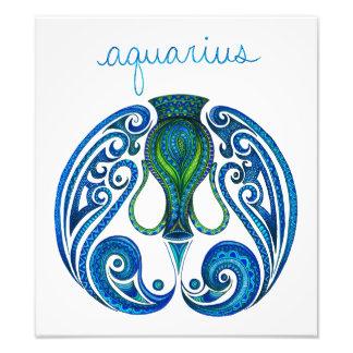 Símbolo del acuario cojinete