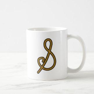 Símbolo del alquimista para el oro taza clásica