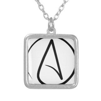 Símbolo del ateísmo grimpola personalizada