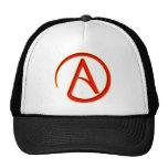 Símbolo del ateísmo gorra
