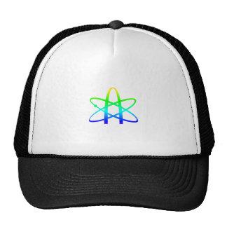 Símbolo del ateísmo gorros bordados