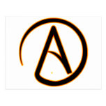 Símbolo del ateísmo postal