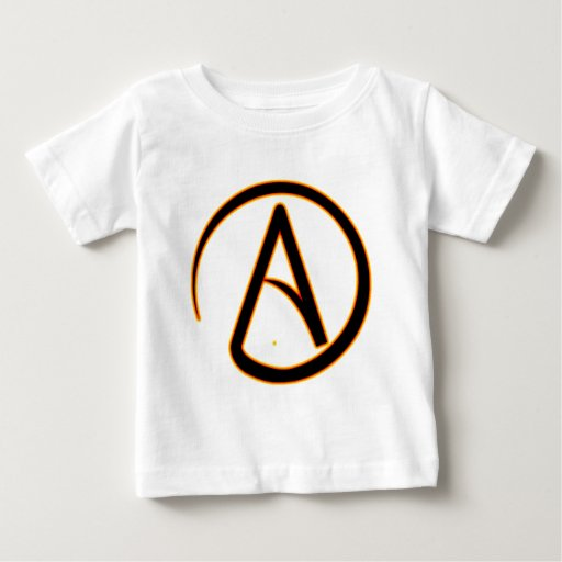 Símbolo del ateísmo remera
