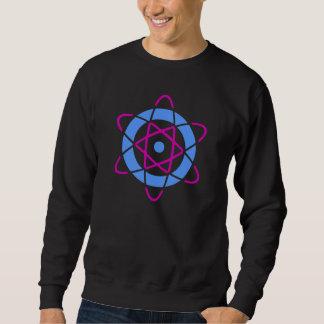 Símbolo del átomo del friki de Sci Fi Sudadera