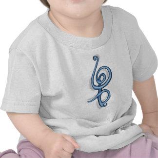 Símbolo del azul del de Hakuna Matata Camiseta
