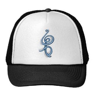 Símbolo del azul del ~ de Hakuna Matata Gorras De Camionero