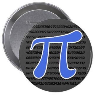 Símbolo del azul real pi pin
