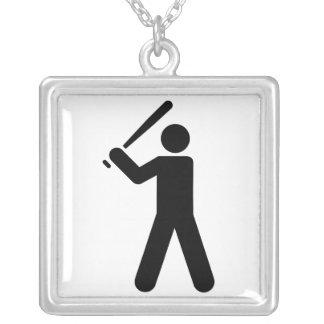 Símbolo del béisbol colgante
