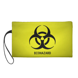 Símbolo del Biohazard (amarillo)