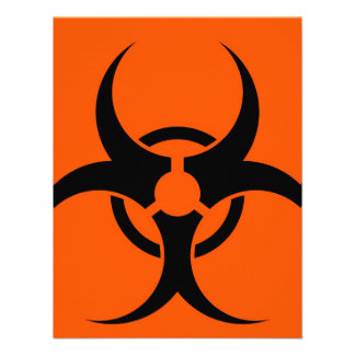 Símbolo del Biohazard Anuncio