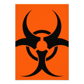 Símbolo del Biohazard Anuncios Personalizados