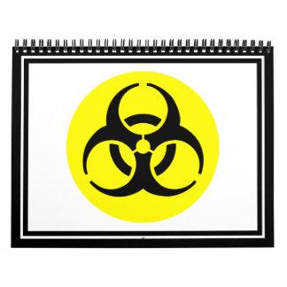 Símbolo del BioHazard Calendario De Pared