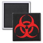 Símbolo del Biohazard Iman De Nevera