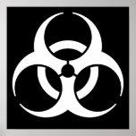 Símbolo del Biohazard Impresiones