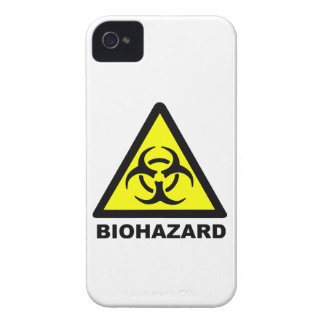 Símbolo del Biohazard iPhone 4 Case-Mate Fundas