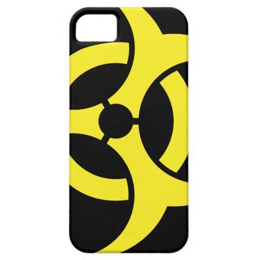 Símbolo del Biohazard iPhone 5 Funda