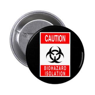 Símbolo del Biohazard Pins