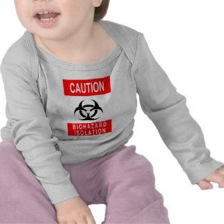 Símbolo del Biohazard Camiseta