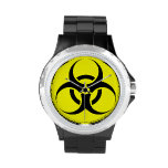 Símbolo del Biohazard Reloj