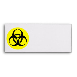 Símbolo del BioHazard Sobre