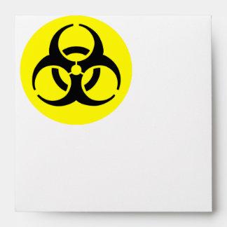 Símbolo del BioHazard Sobres