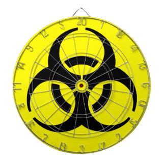 Símbolo del BioHazard Tablero Dardos