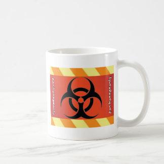 Símbolo del Biohazard Taza De Café