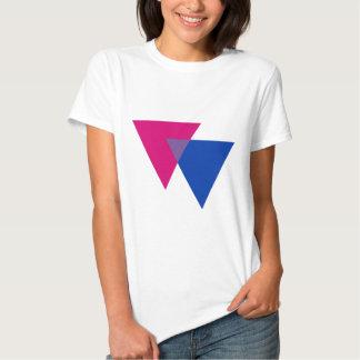 Símbolo del Bisexuality Playera