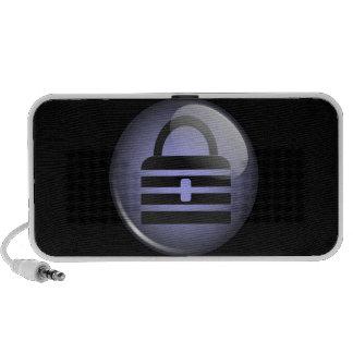 Símbolo del botón de Keepass Altavoz De Viaje