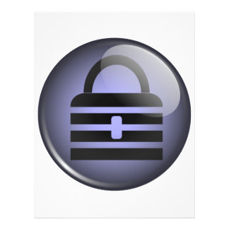 "Símbolo del botón de Keypass Folleto 8.5"" X 11"""