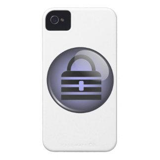 Símbolo del botón de Keypass iPhone 4 Cárcasas