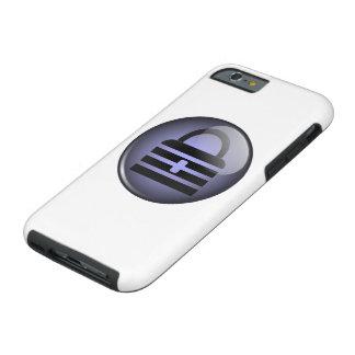 Símbolo del botón de Keypass Funda De iPhone 6 Tough