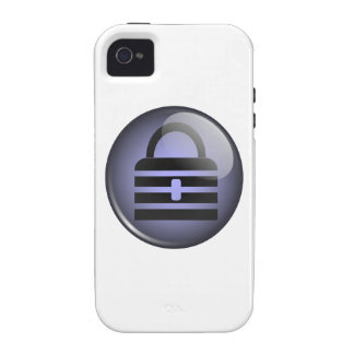 Símbolo del botón de Keypass iPhone 4/4S Funda