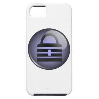 Símbolo del botón de Keypass iPhone 5 Carcasa