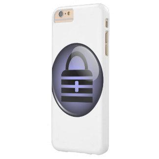 Símbolo del botón de Keypass Funda De iPhone 6 Plus Barely There