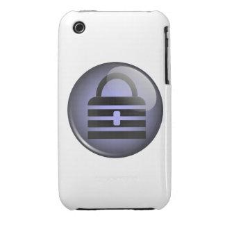 Símbolo del botón de Keypass iPhone 3 Cobertura